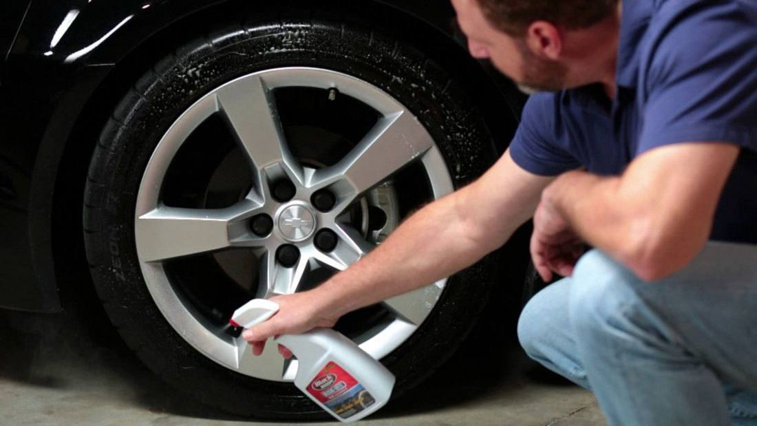 Remove Paint on Tires