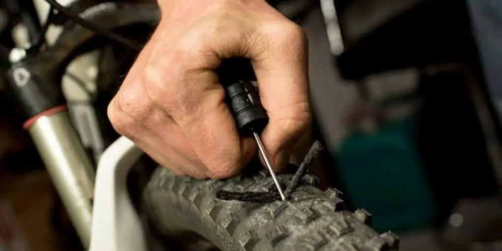 How to Plug a Tire Without a Plug Kit